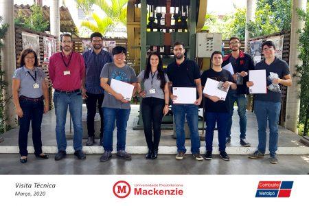 Engenharia Mackenzie na Metalpó