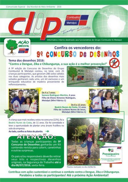 Grupo Combustol & Metalpó realiza Ação Ambiental 2016