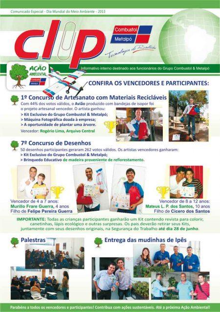 Grupo Combustol & Metalpó realiza Ação Ambiental 2013