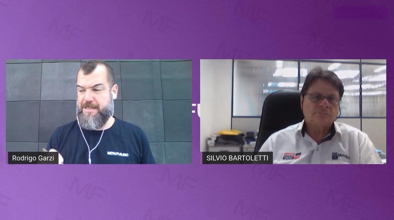 Entrevista Sílvio Bartoletti para o canal Metal Futuro